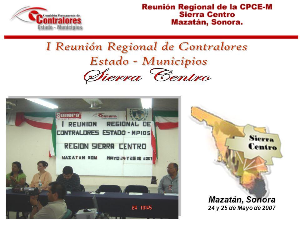 I Reunión Regional de Contralores