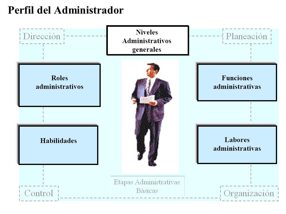 Perfil del Administrador