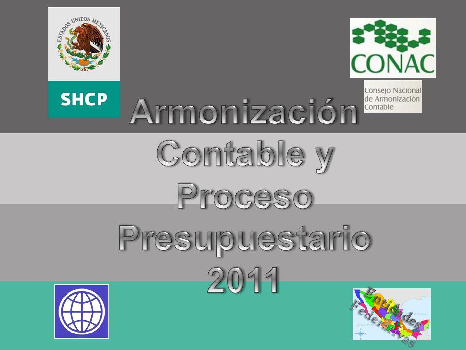 Armonización Contable y Proceso Presupuestario 2011
