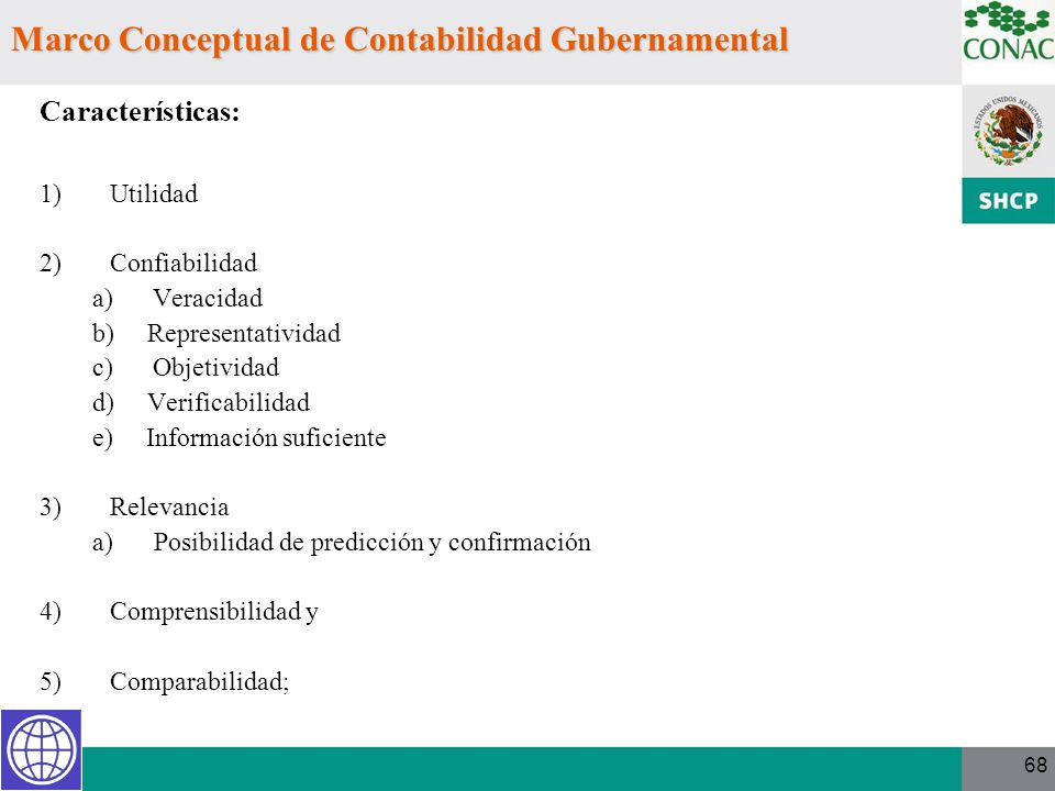 Marco Conceptual de Contabilidad Gubernamental