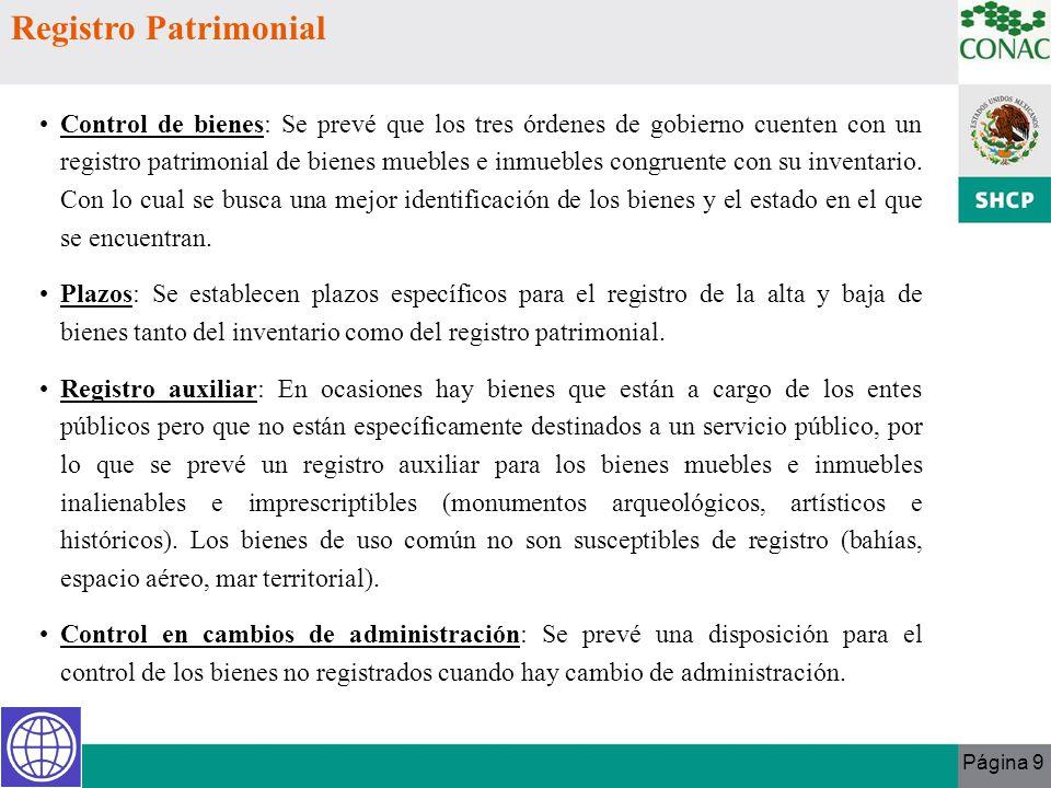 Registro Patrimonial