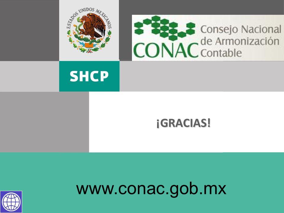 ¡GRACIAS! www.conac.gob.mx