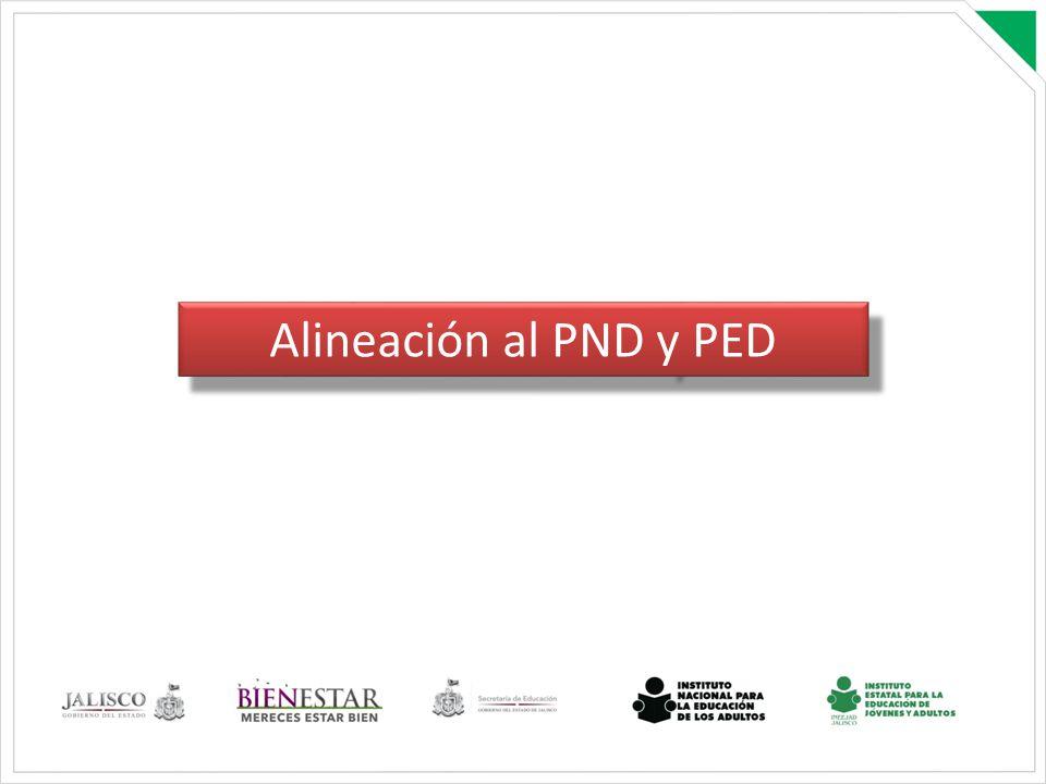 Alineación al PND y PED