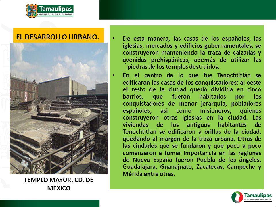 TEMPLO MAYOR. CD. DE MÉXICO