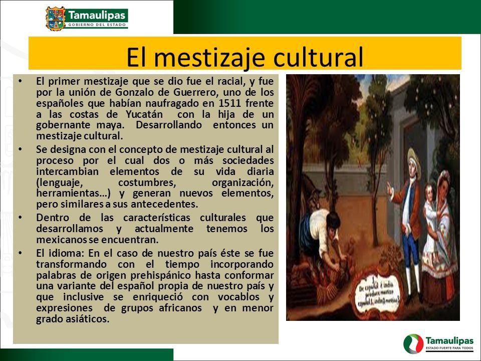 El mestizaje cultural