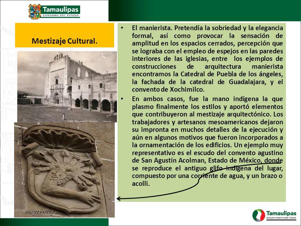Mestizaje Cultural.