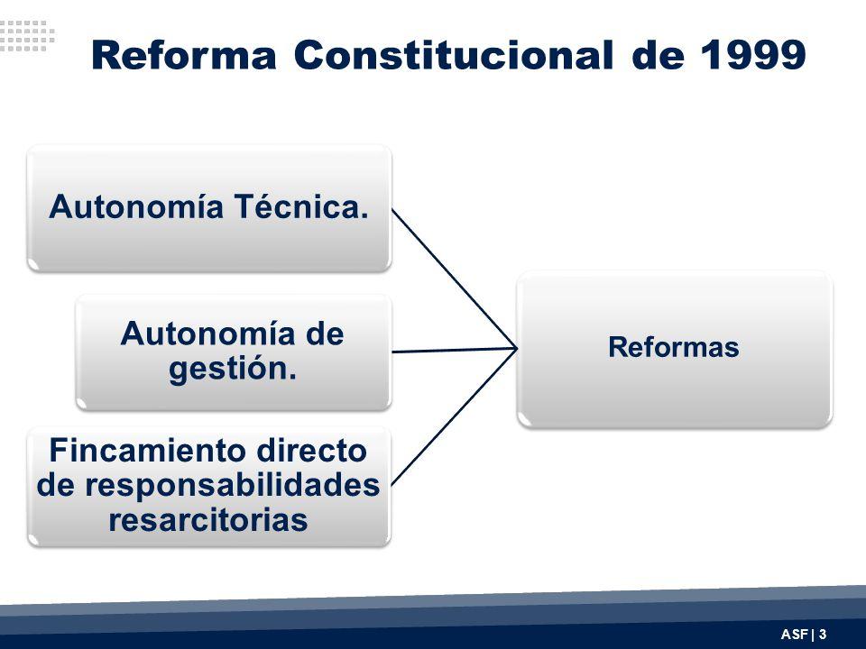 Reforma Constitucional de 1999