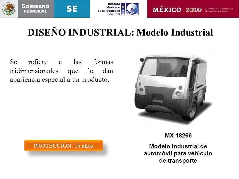 DISEÑO INDUSTRIAL: Modelo Industrial