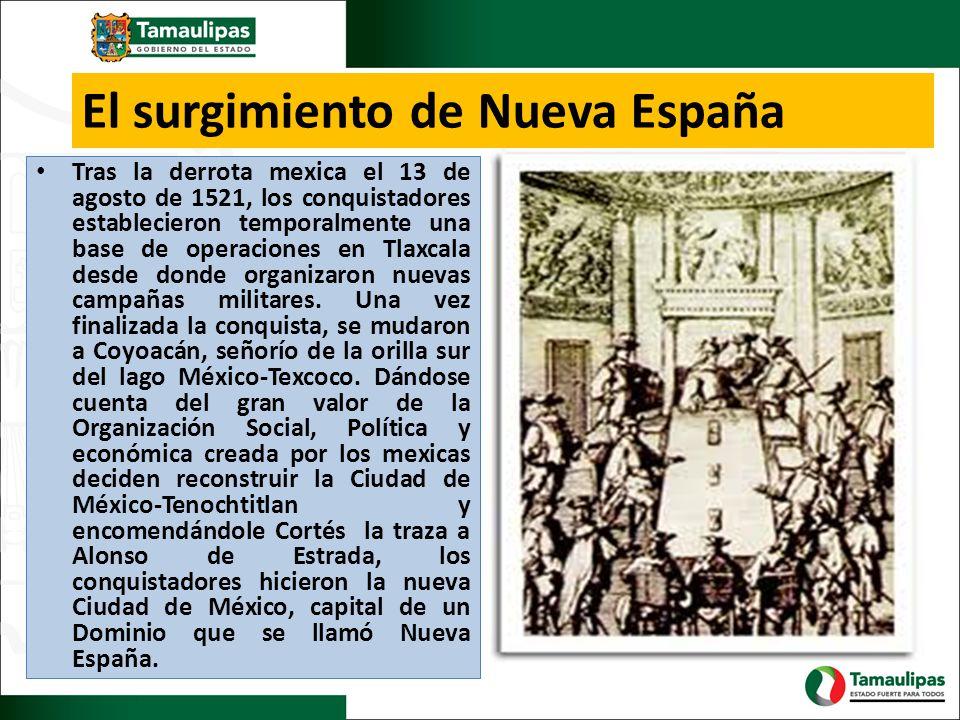 El surgimiento de Nueva España