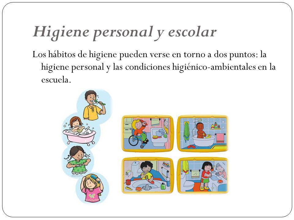 Higiene personal y escolar