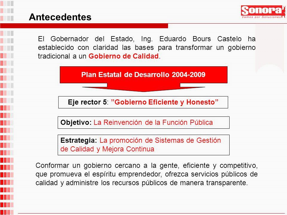 Plan Estatal de Desarrollo 2004-2009