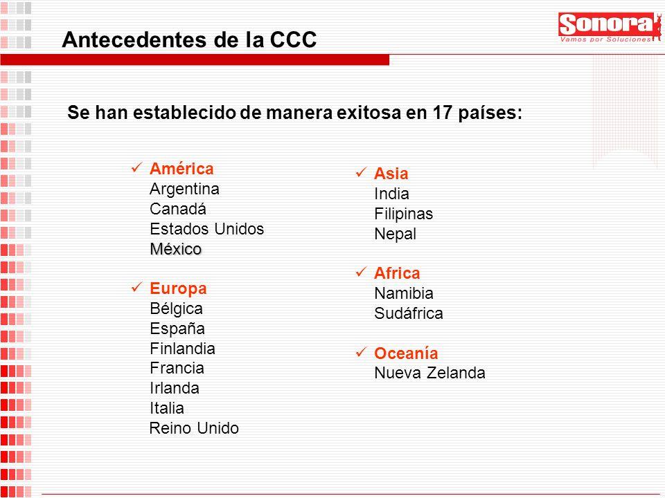 Se han establecido de manera exitosa en 17 países: