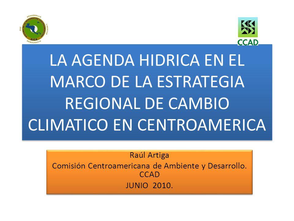 Comisión Centroamericana de Ambiente y Desarrollo. CCAD