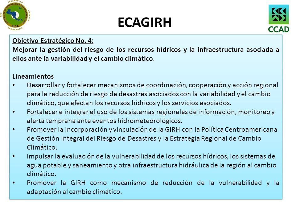 ECAGIRH Objetivo Estratégico No. 4: