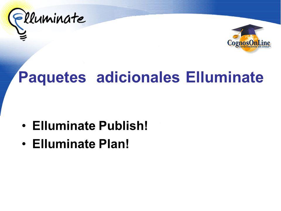 Paquetes adicionales Elluminate