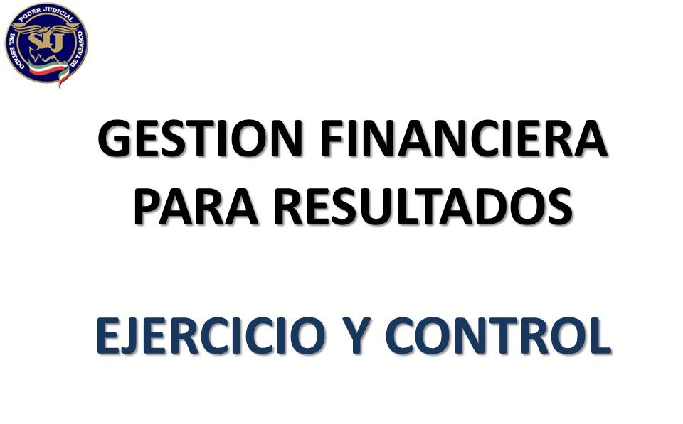 GESTION FINANCIERA PARA RESULTADOS