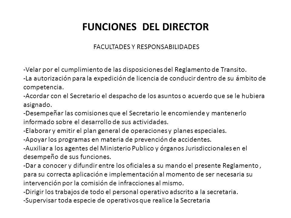 FUNCIONES DEL DIRECTOR