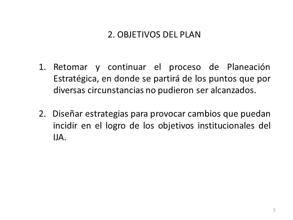 2. OBJETIVOS DEL PLAN