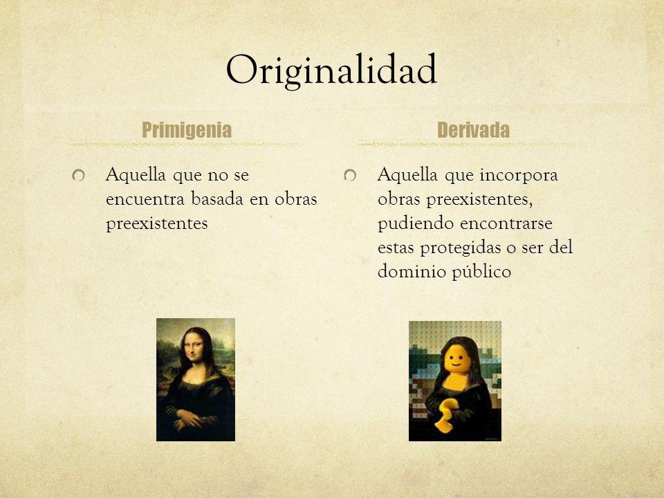 Originalidad Primigenia Derivada