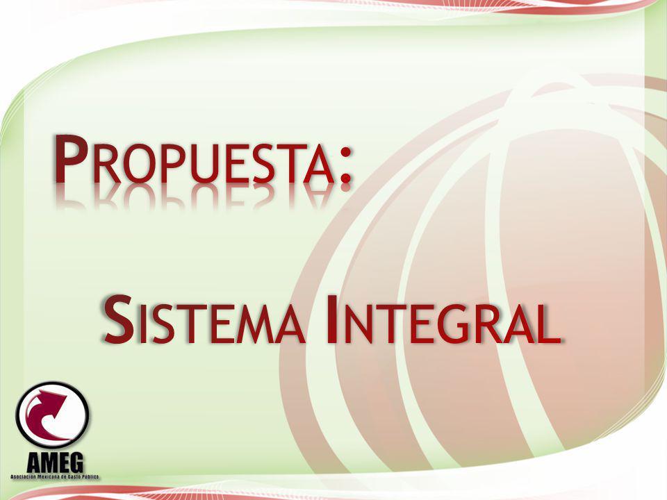 Propuesta: Sistema Integral