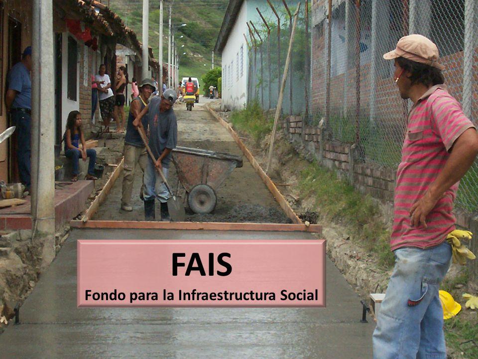 Fondo para la Infraestructura Social
