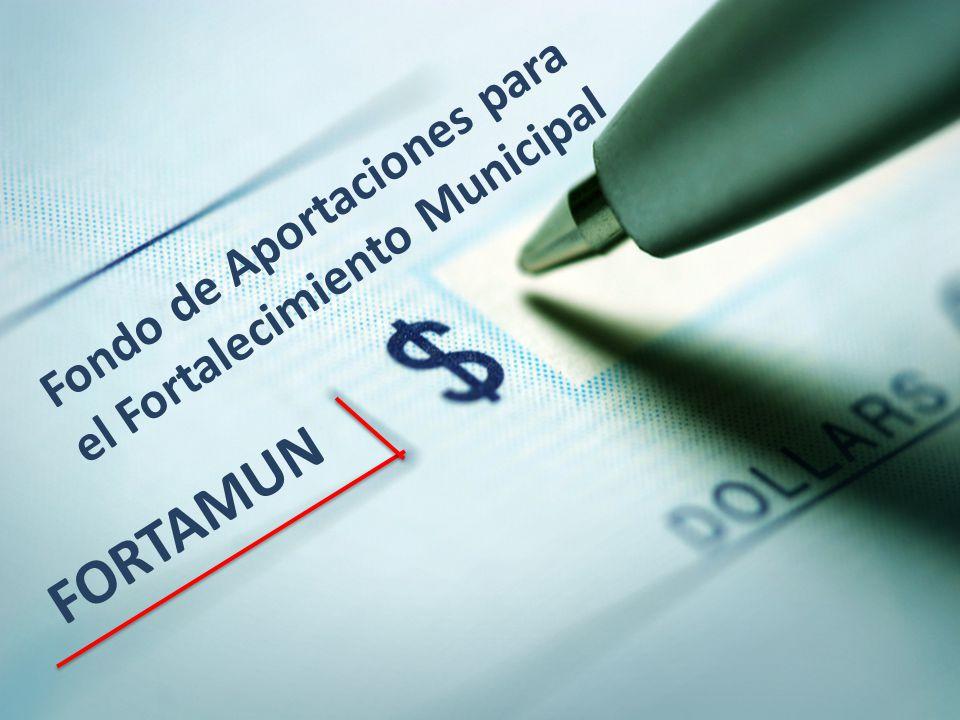 Fondo de Aportaciones para el Fortalecimiento Municipal
