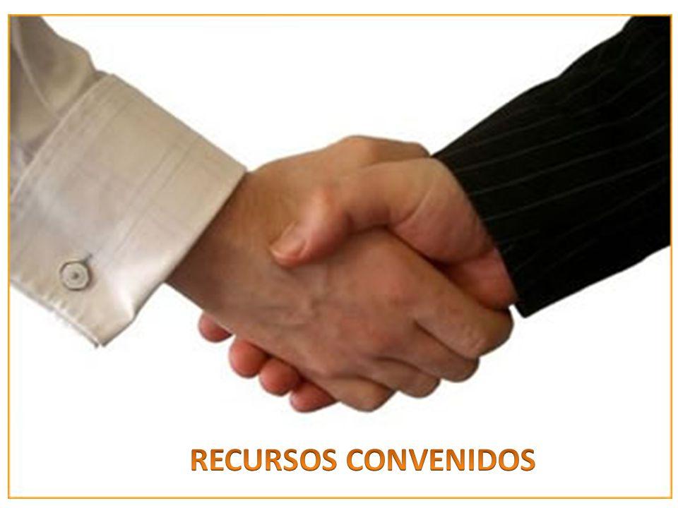 RECURSOS CONVENIDOS