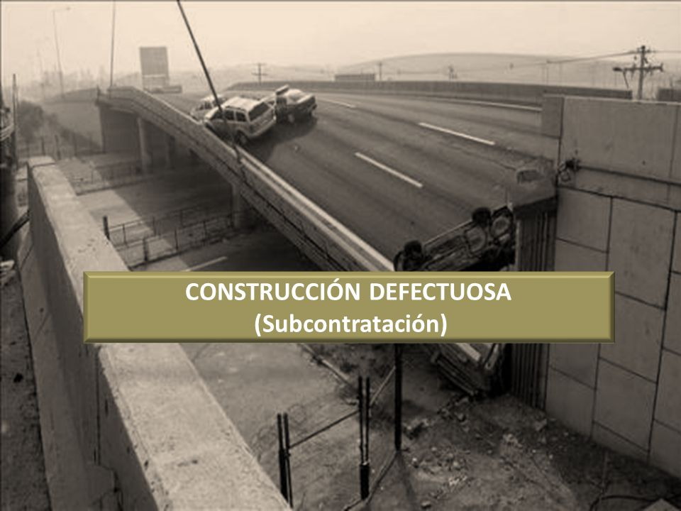 CONSTRUCCIÓN DEFECTUOSA