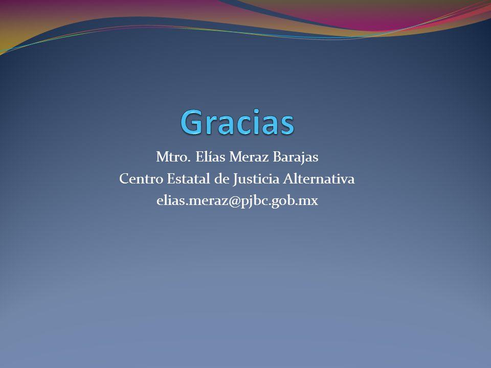Gracias Mtro. Elías Meraz Barajas