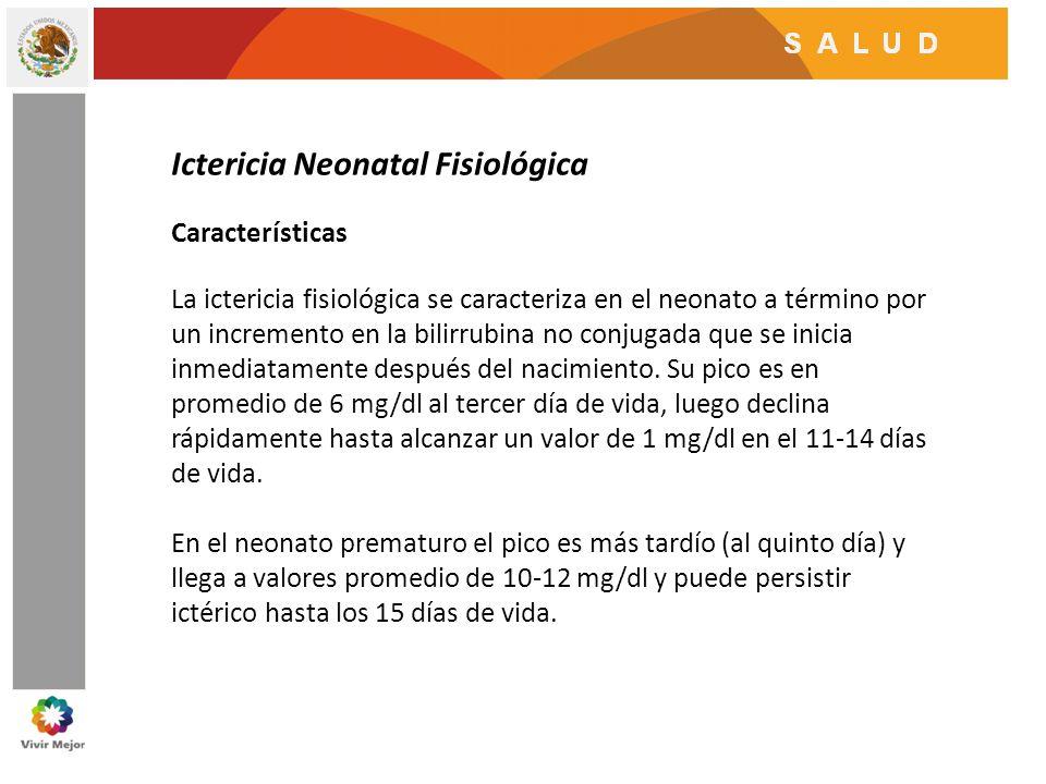 Ictericia Neonatal Fisiológica