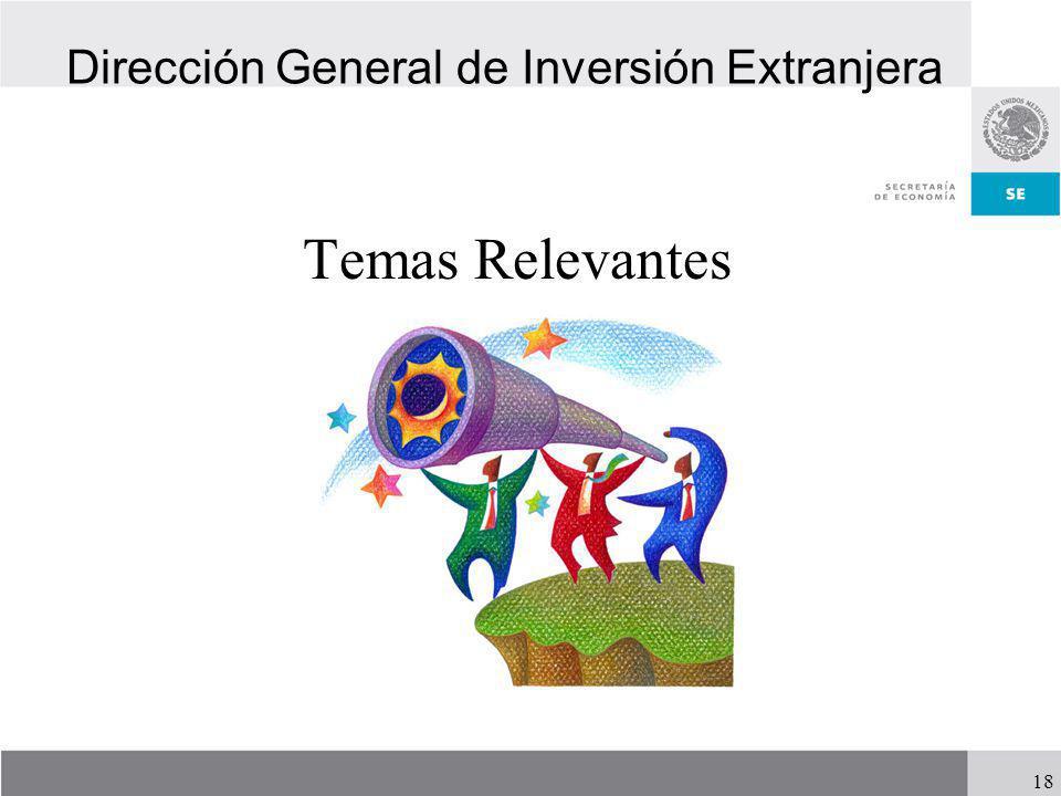 Dirección General de Inversión Extranjera