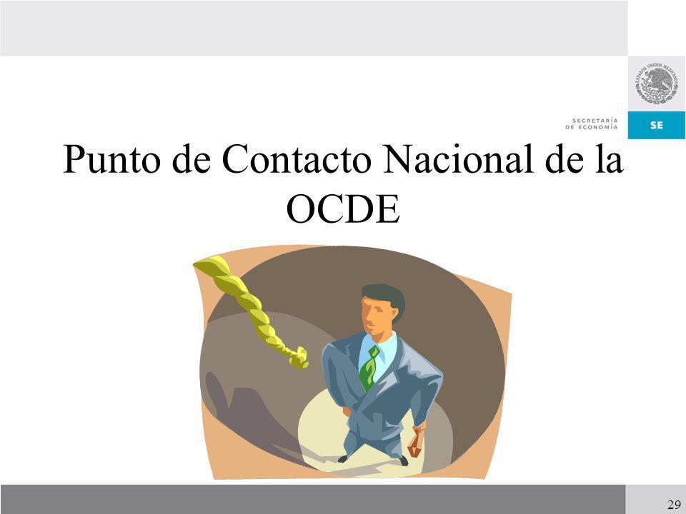 Punto de Contacto Nacional de la OCDE