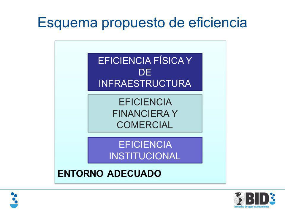 Esquema propuesto de eficiencia