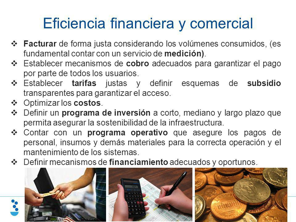 Eficiencia financiera y comercial