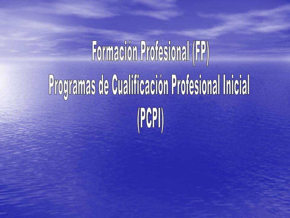 Formación Profesional (FP)