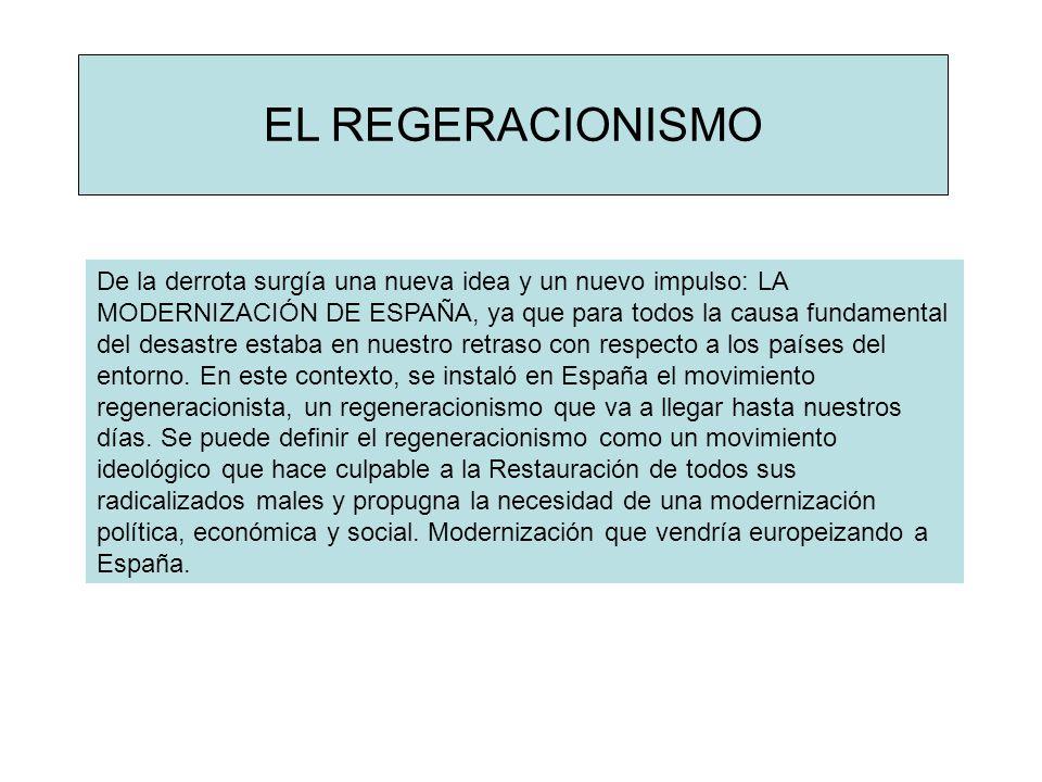 EL REGERACIONISMO
