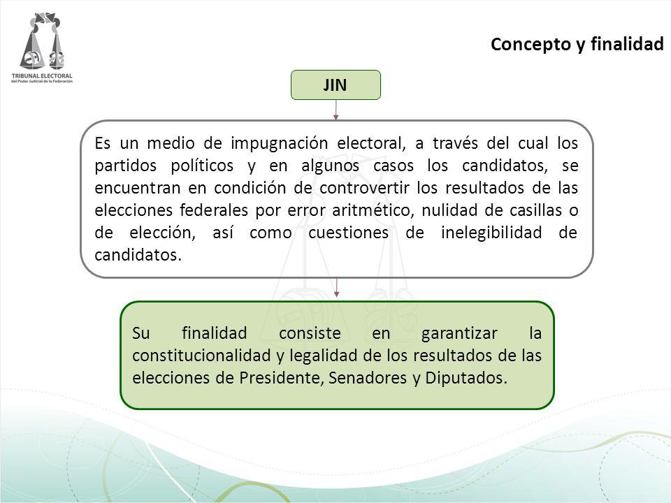 Concepto y finalidad JIN