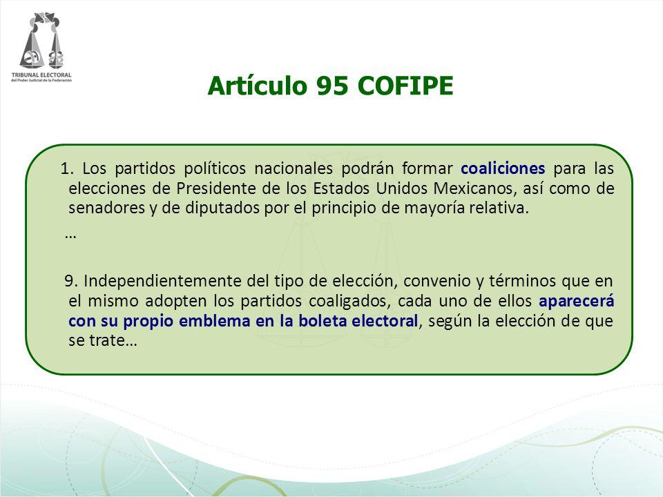Artículo 95 COFIPE