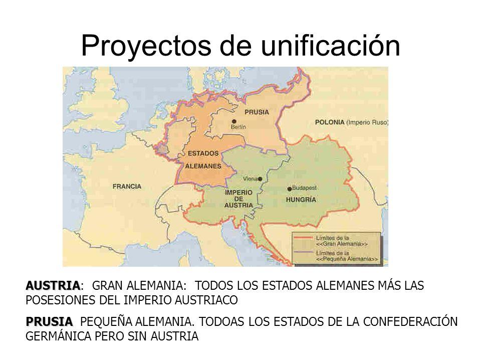 Proyectos de unificación