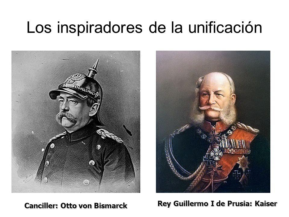 Los inspiradores de la unificación