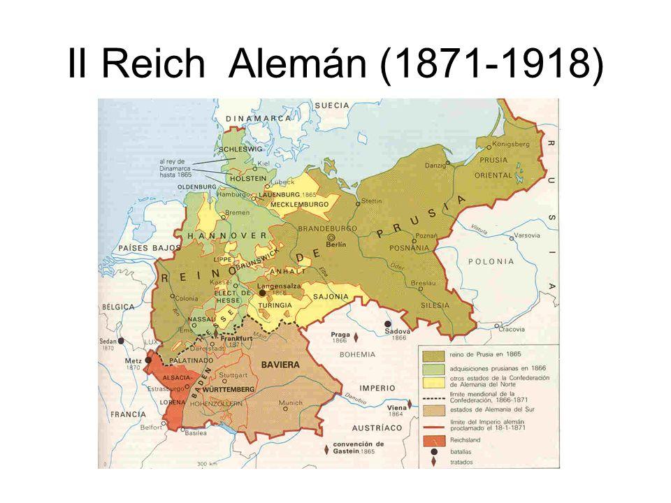 II Reich Alemán (1871-1918)