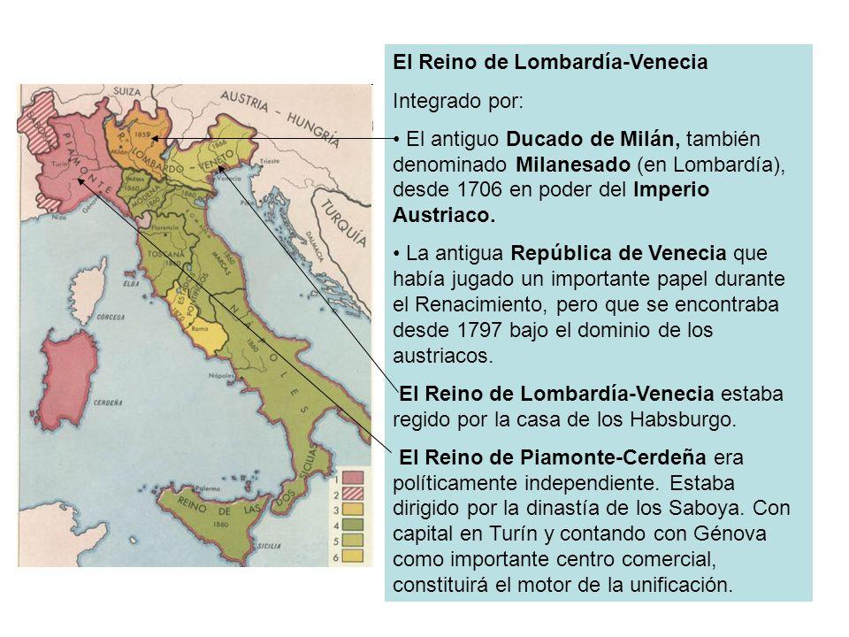 El Reino de Lombardía-Venecia