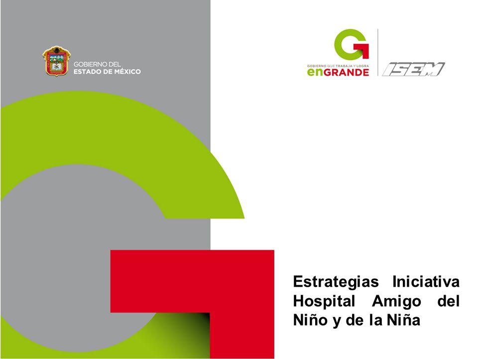 Estrategias Iniciativa Hospital Amigo del Niño y de la Niña