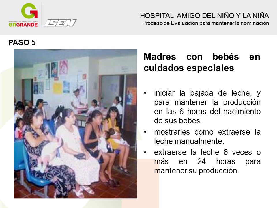 Madres con bebés en cuidados especiales