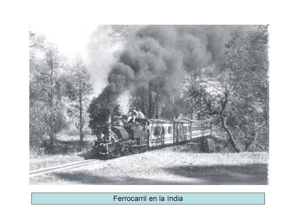 Ferrocarril en la India
