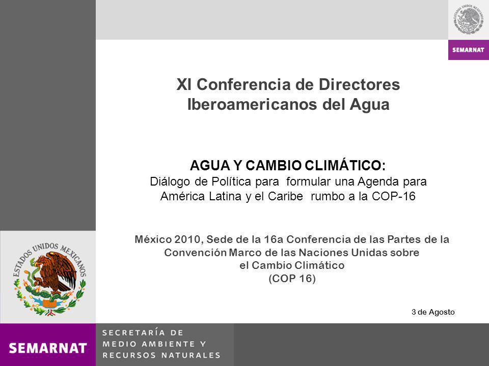 XI Conferencia de Directores Iberoamericanos del Agua