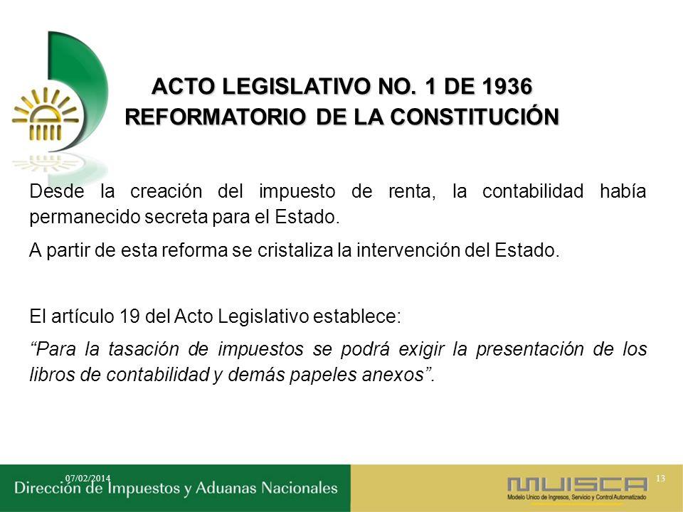 REFORMATORIO DE LA CONSTITUCIÓN