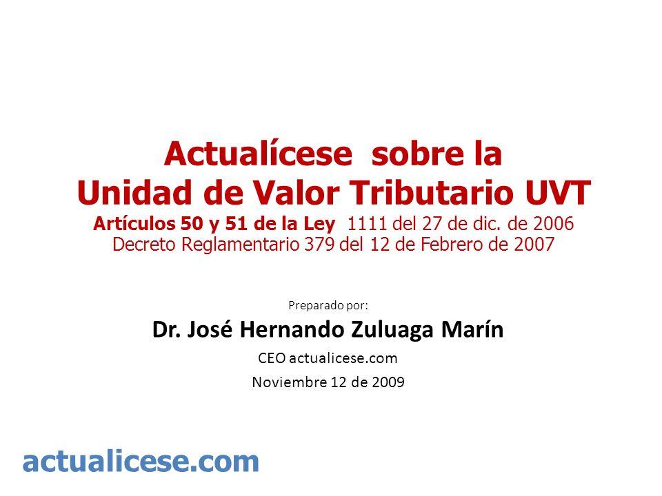 Preparado por: Dr. José Hernando Zuluaga Marín