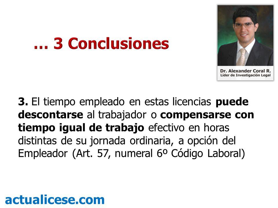 … 3 Conclusiones actualicese.com