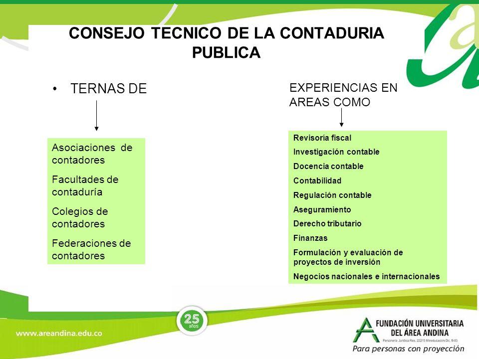 CONSEJO TECNICO DE LA CONTADURIA PUBLICA